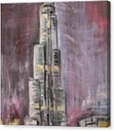 Burj Khalifa Canvas Print