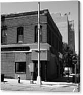 Burlington, Nc - Main Street And Front Canvas Print