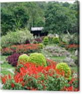 Burma Village Garden Canvas Print
