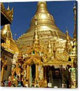 Burma's Golden Pagoda Canvas Print