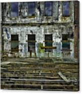 Burned And Gutted In Detail Canvas Print