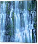Burney Falls Mist Mcarthur Burney Sp California  Canvas Print