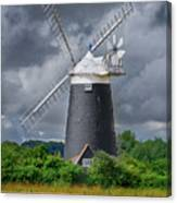 Burnham Overy Mill Canvas Print