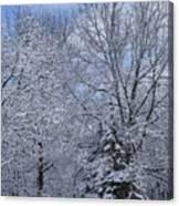 Burnidge Winter Canvas Print