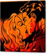 Burning Kiss Of Fire Canvas Print