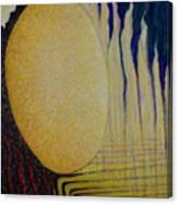 Burning Yellow Canvas Print