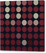 Burnt Dots Canvas Print