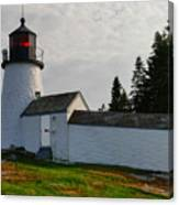 Burnt Island Lighthouse  - The Other Side Canvas Print
