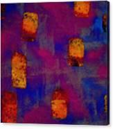Burnt Orange Floating Canvas Print
