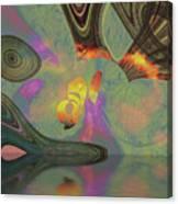 Burnth Canvas Print