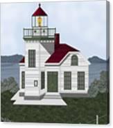 Burrows Island Lighthouse Canvas Print