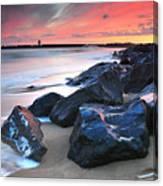 Burry Port 3 Canvas Print