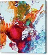 Burst Of Consciousness Canvas Print