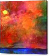 Bursting With Joy Canvas Print