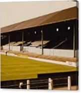 Bury - Gigg Lane - North Stand 1 - 1969 Canvas Print