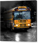 Bus Of Darkness Canvas Print