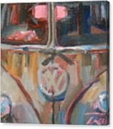 Bus-rust Canvas Print