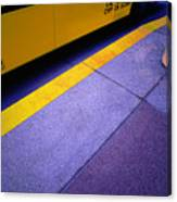 Bus Stop Canvas Print