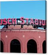 Busch Stadium Ball Park Canvas Print