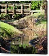 Buschman Park Bridge Canvas Print
