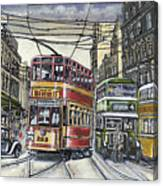 Buses Trams Trolleys Canvas Print