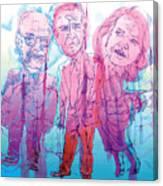 Bush Administration 2008 Canvas Print
