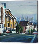 Bush Street Canvas Print