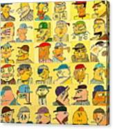 Bushers  Canvas Print