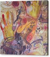 Bushman Comes Alive Canvas Print