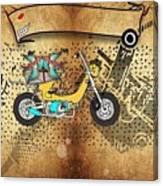 Business Card Tattoo Canvas Print
