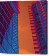 Business Travel, Architectural Abstract Canvas Print
