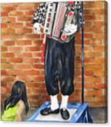 Buskerfest Street Toronto Canvas Print