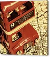Bussing Britain Canvas Print