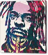 Busta Rhymes Pop Art Poster Canvas Print