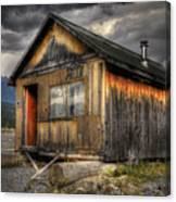 Busted Shack Canvas Print