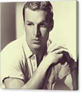 Buster Crabbe, Vintage Actor Canvas Print