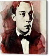 Buster Keaton, Legend Canvas Print