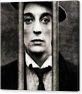 Buster Keaton, Vintage Actor Canvas Print