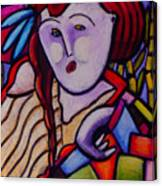 Butah Dancer Wearing Quilot Canvas Print