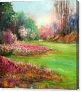 Butchart Garden Canvas Print
