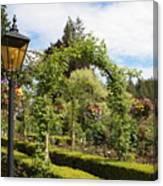 Butchart Gardens Arches Canvas Print