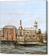 Butlers Wharf And Courage's Brewery Canvas Print