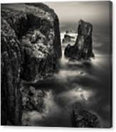Butt Of Lewis Cliffs Canvas Print