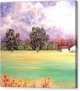 Butterfield Meadows Three Canvas Print