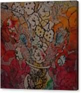 Butterflies And Flower Canvas Print