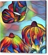 Butterflies For Children 1 Canvas Print