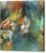 Butterflies On A Spring Day Canvas Print
