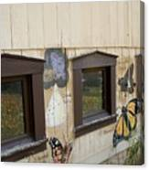 Butterfly Barn Canvas Print