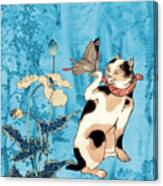 Butterfly Charmer Canvas Print