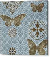 Butterfly Deco 1 Canvas Print